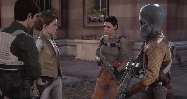 Star Wars Battlefront 2 - Iden rejoint les rebelles