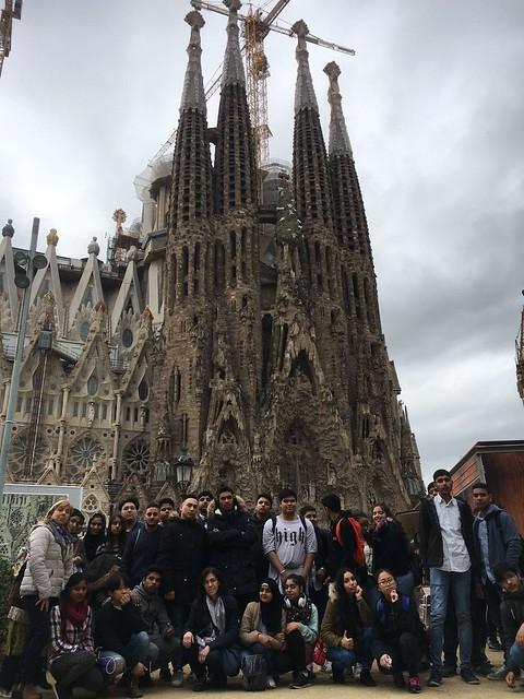 4t d'ESO a la Sagrada Família