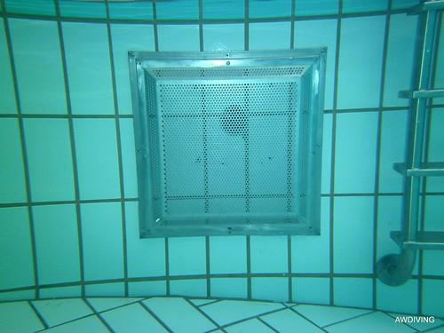 Anti aanzuig zwembadrooster