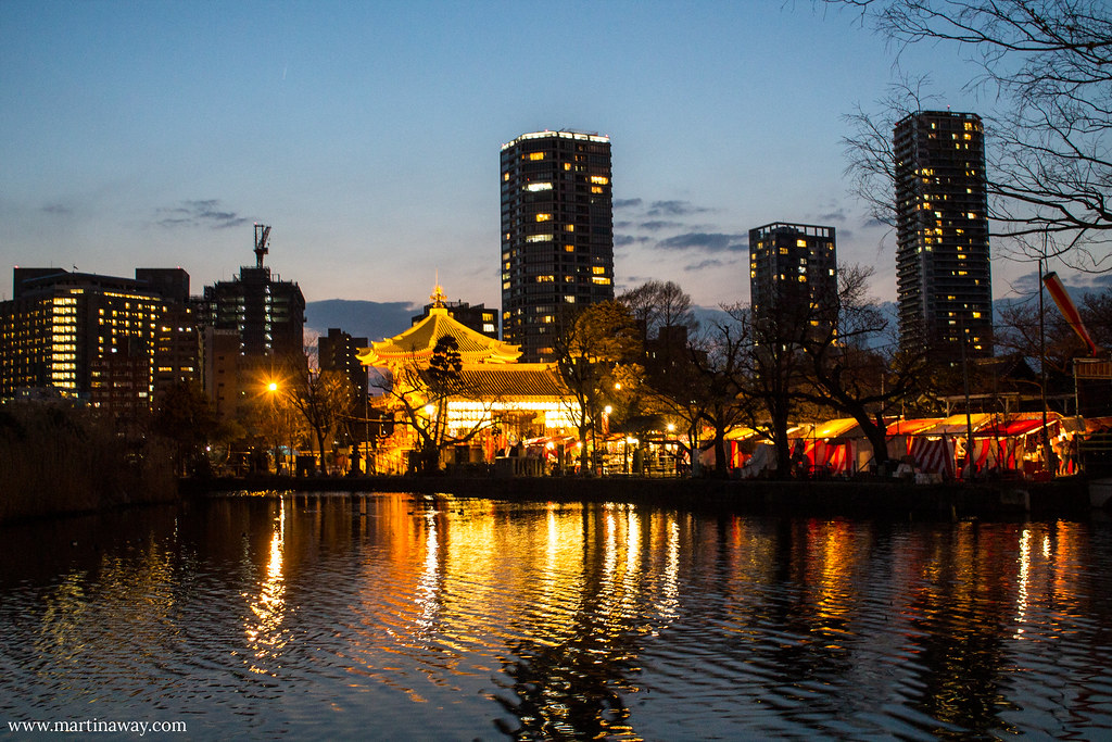 Benten-do, Shinobazu Pond, Ueno Park