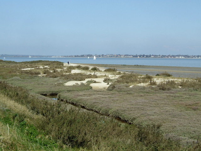 The coast near St Peter-on-the-Wall, Bradwell