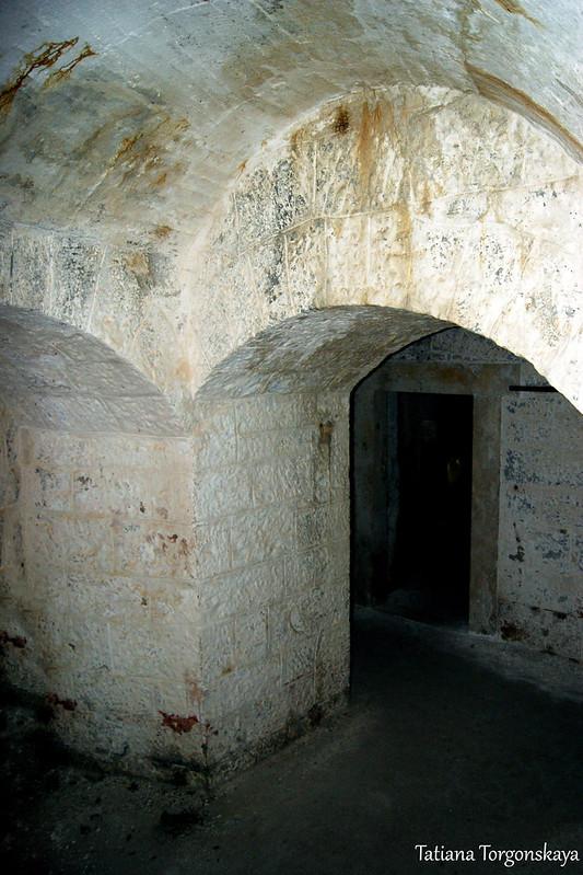 Фрагмент с 1 этажа крепости
