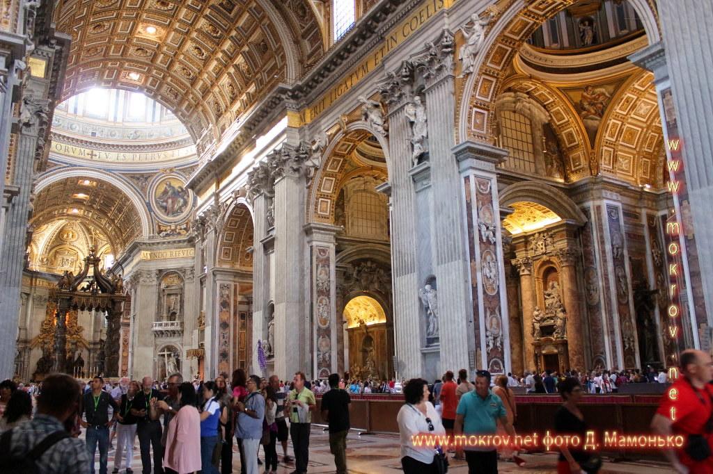 Государство — город Ватикан прогулки туристов