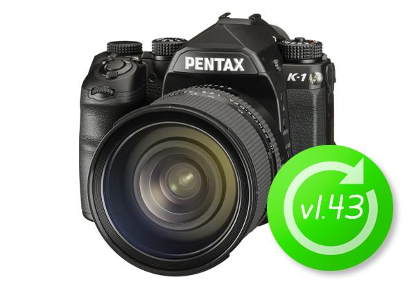 PENTAX K-1 Firmware update v1.43