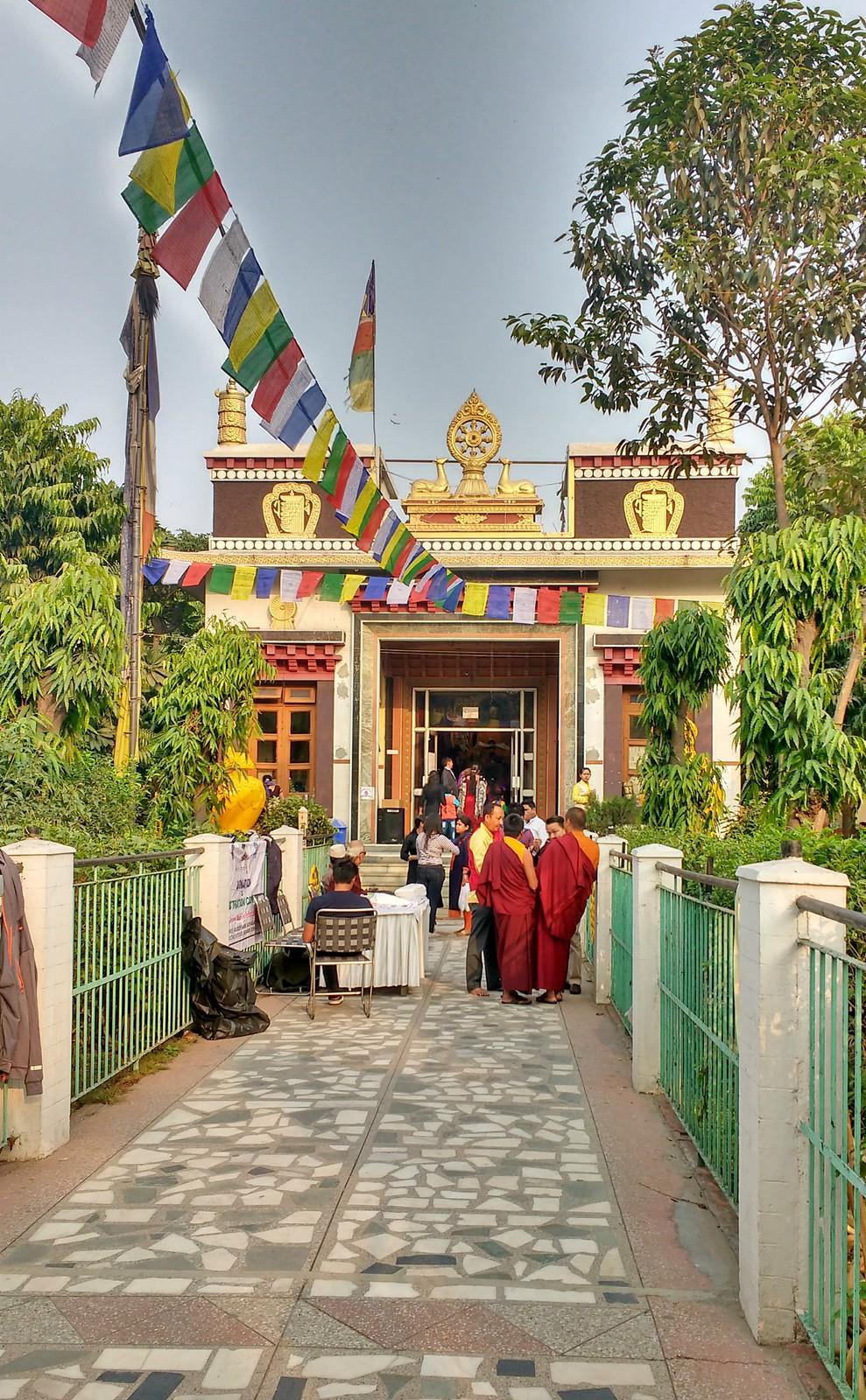 Tibetan Monastery, Delhi