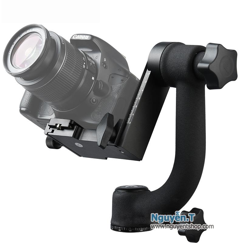 Đầu Gimbal Head BK-45 siêu tinh chỉnh đa góc cho máy ống kính nặng