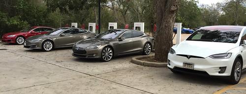tesla supercharger models modelx electricvehicle charging