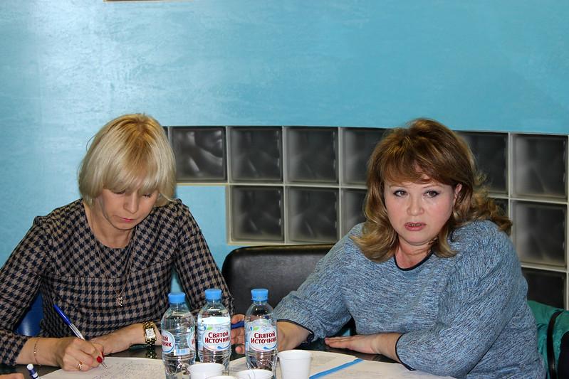 Справа —  Капустина Екатерина Геннадьевна, КП Мосгорпечать