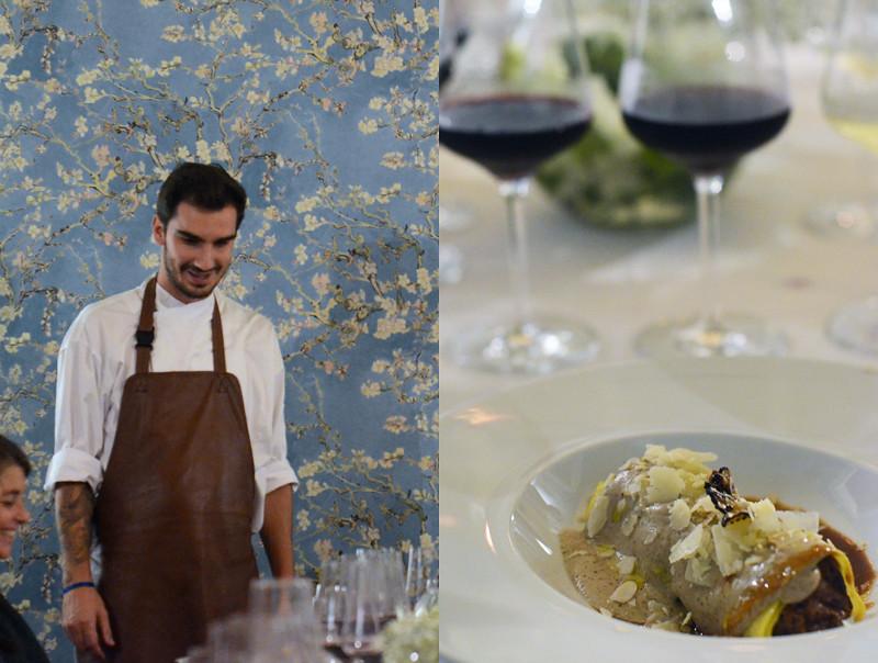 Jantar Vínico chef Nuno Bergonse + Vinhos Contemporal
