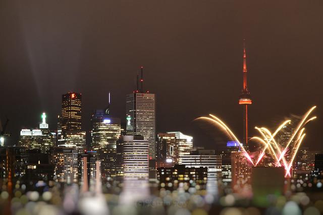 Fireworks of Cavalcade of Lights