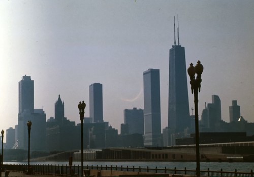 Chicago Skyline - 1987