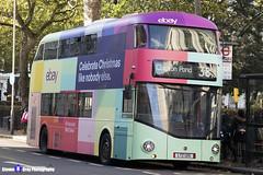 Wrightbus NRM NBFL - LTZ 1215 - LT215 - eBay - Clapton Pond 38 - Arriva London - London 2017 - Steven Gray - IMG_4956