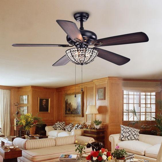Under light ceiling fan