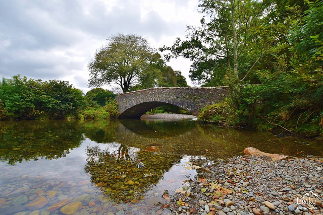 Forge Bridge on the Eskdale to Ravenglass hike - Eskdale walk