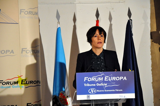 Conferencia de Ana Pontón no Fórum Europa