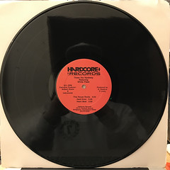 THEREE THE HARDWAY FEATURING WHITE FLASH:HEART BEAT(RECORD SIDE-B)