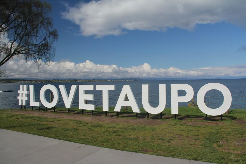 Таупо - наслаждаемся солнцем в ожидании Тонгариро