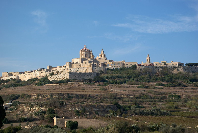 Fort St. Michael and Mdina, one of the kyepoints of the Siege of Malta