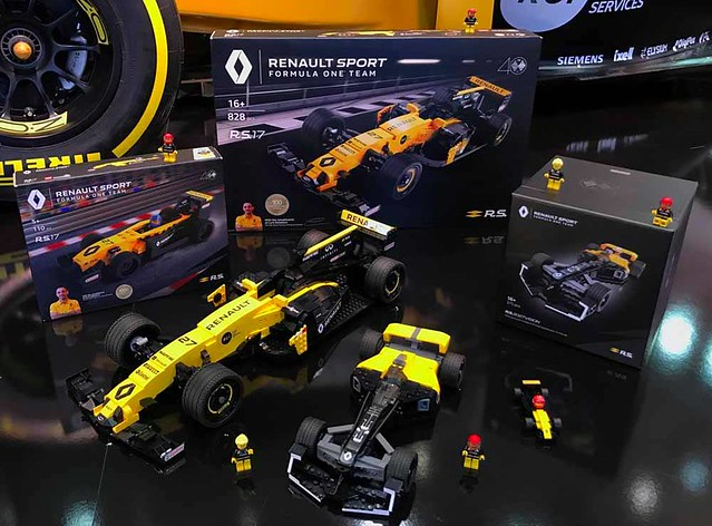 Lego Certified Professional Sets Renault Rs 17 40th Anniversary