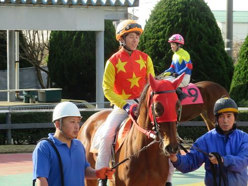 金沢競馬場の塚本弘隆騎手