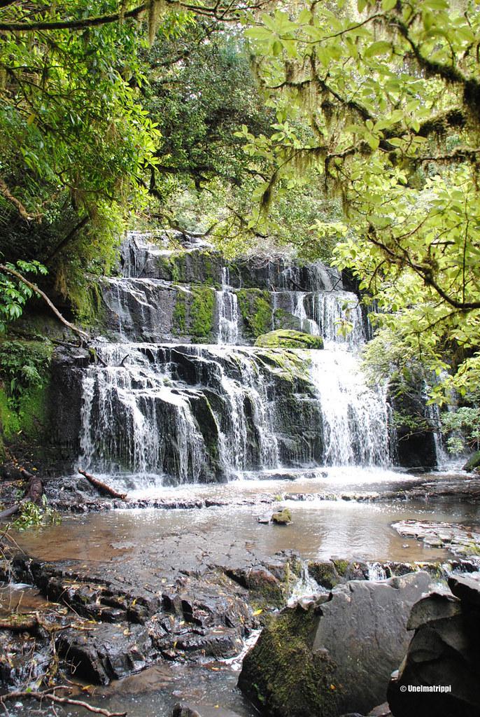 Purakaunui Falls, Uusi-Seelanti