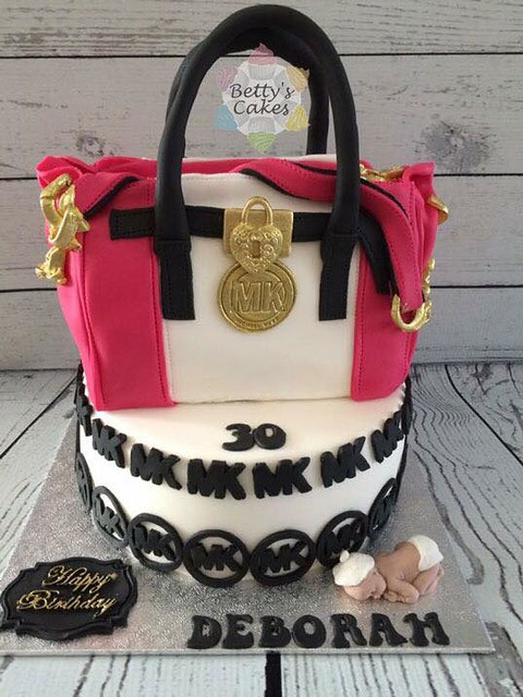 MK Bag Cake by Betty Van de Vorst of Betty's Cakes Someren