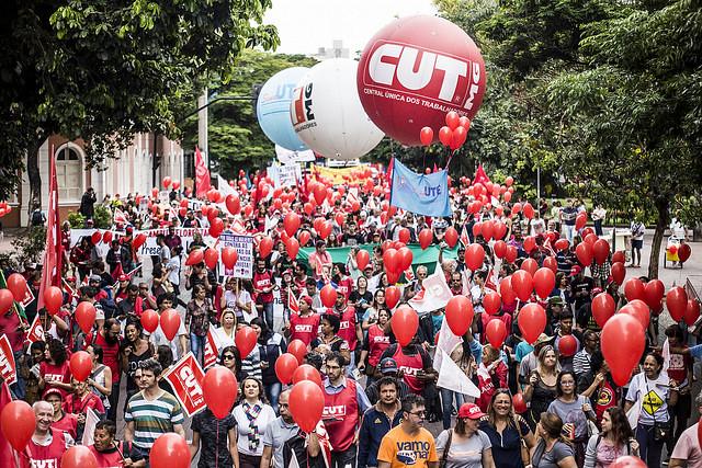 Dia Nacional de paralisação e Mobilização em Belo Horizonte - Créditos: Mídia Ninja