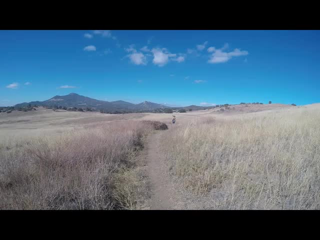 248 GoPro panorama video of the high grassy meadow on the Harvey Moore Trail