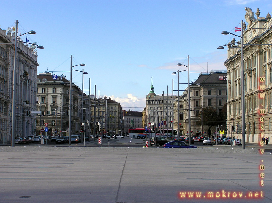 Исторический центр Вены, столица Австрии фоторепортажи