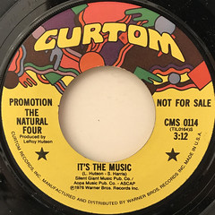 THE NATURAL FOUR:IT'S THE MUSIC(LABEL SIDE-A)