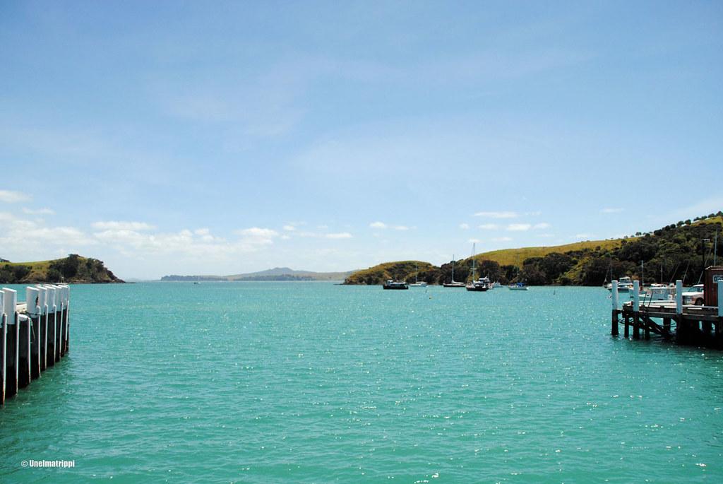 Uskomattoman turkoosia vettä Waiheken saarella, Uusi-Seelanti