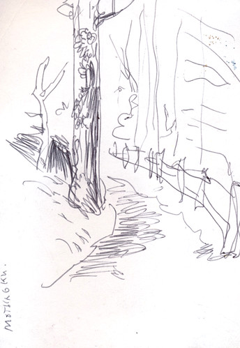 Sketchbook #109: Sketching While Hiking