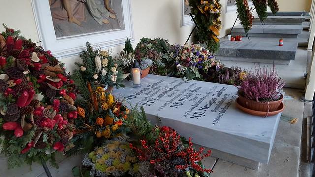 Friedhof in Admont - Grab von Pater Remigius