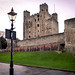 The darkly historical Rochester castle...