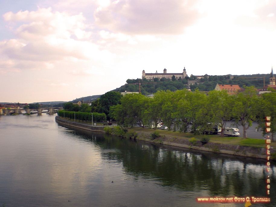 Город Вюрцбург фотографии