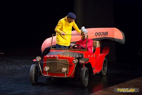 Ludi par majstora iz crtića 'A je to' u predstavi Kazališta Trešnja stigao i na Jadransko more @ Opatija