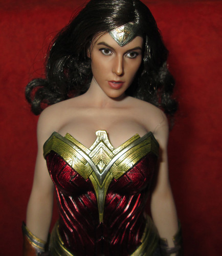 onesixth 1//6 Gal Gadot Wonder Lady head sculpt fit toys phicen female body
