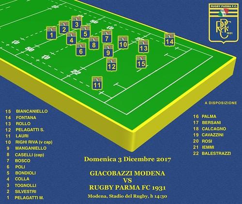 Modena vs RPFC