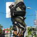 Rubber on a Pole - Wynwood Arts District - Miami, Florida