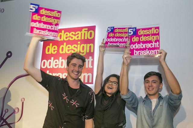 Alunos de Design Mauá vencem 5.º Desafio de Design Odebrecht Braskem