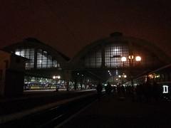 Lviv Tren Garı - Gece