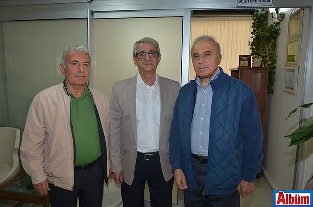 Nihat Oğuz, Mehmet Ali Akış, Şevki Sevindi