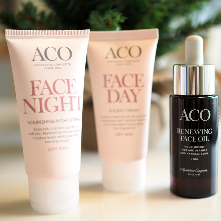 ACO Face ihonhoitotuotteet