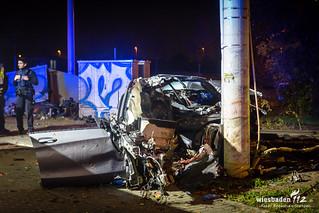 Tödlicher Unfall Mainz-Hechtsheim 14.11.17