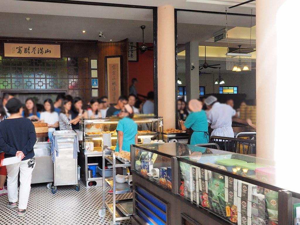 Customers ordering at Foh San Dim Sum Restaurant, Ipoh