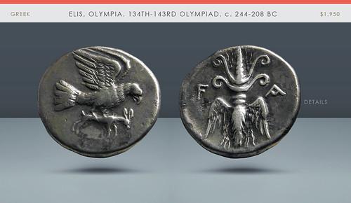 Elis Olympiad coin