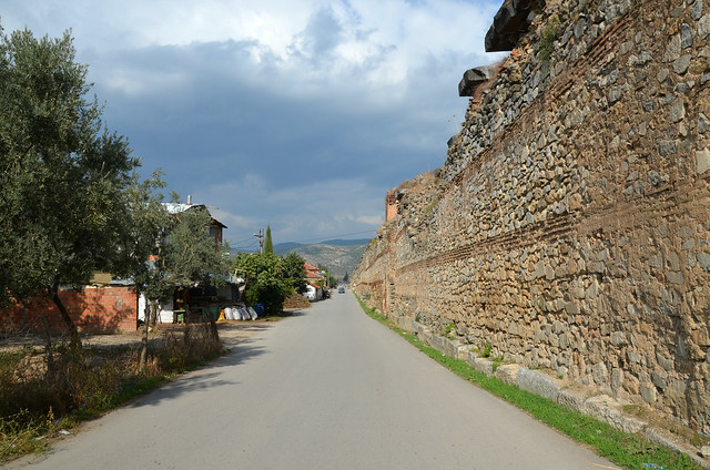 Nicaea's Byzantine fortifications, Iznik, Turkey