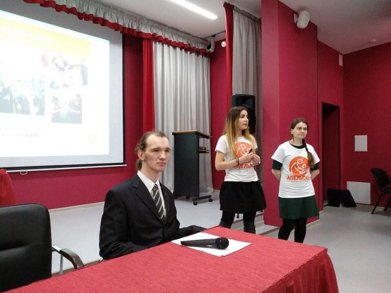 2-ое выступление в СПБГИПСР. поэт Александр Меркушев