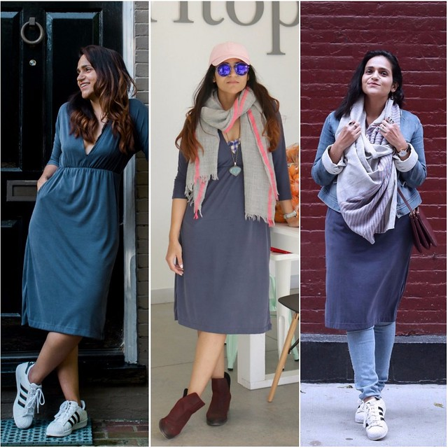 08_ Three Ways To Style a Jersey Dress Tanvii.com