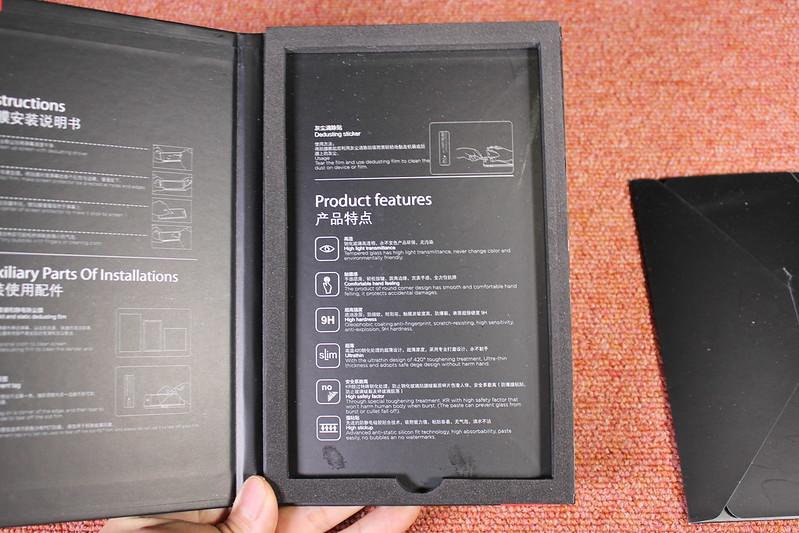 Xiaomi Mi Mix 2 の保護ガラスを貼る (19)